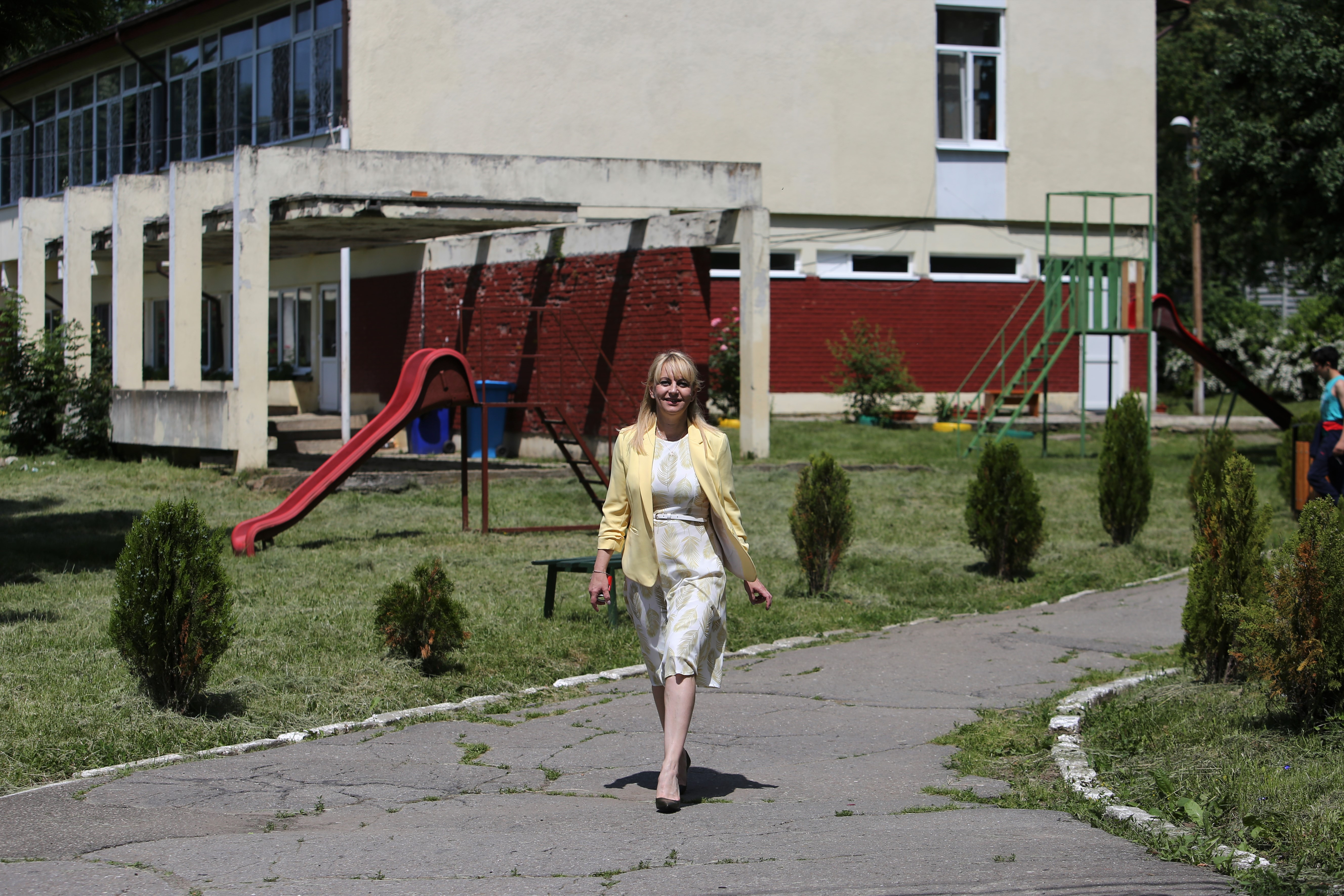 Directoarea spitalului Irina Minescu