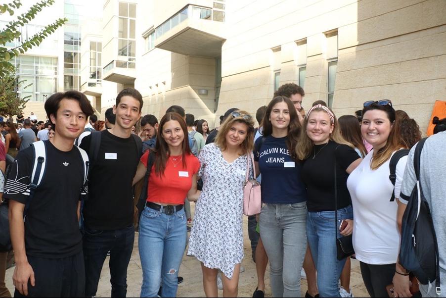 Ioana Mogos si colegii ei de facultate