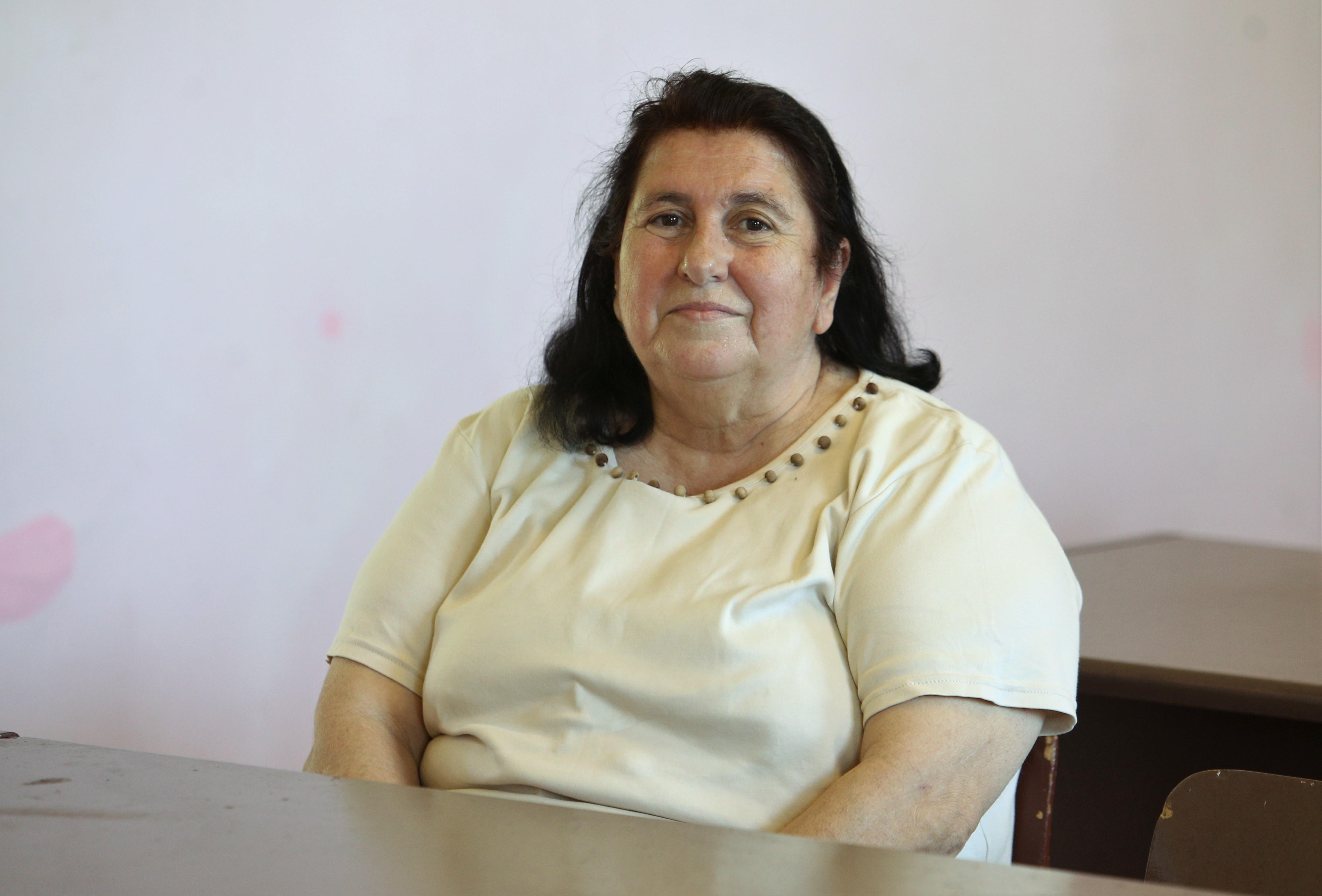 Invățătoarea Magdalena Lascu