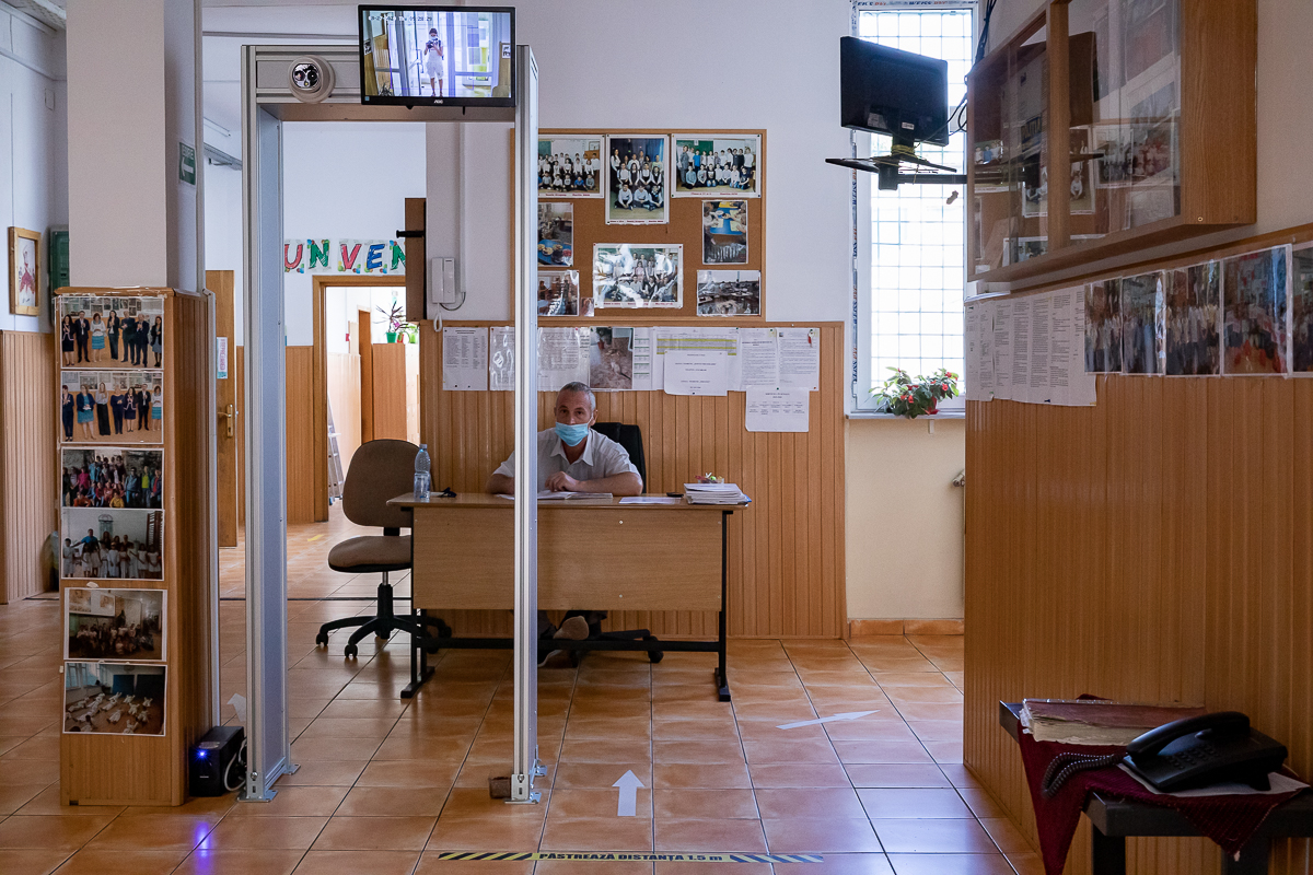 Intrarea în Școala Uruguay
