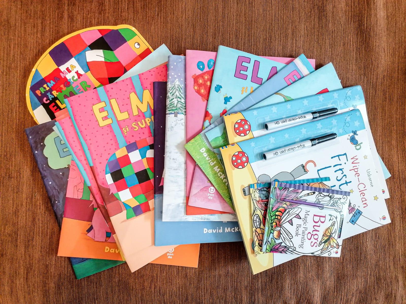 Caiete si carti pentru clasele mici