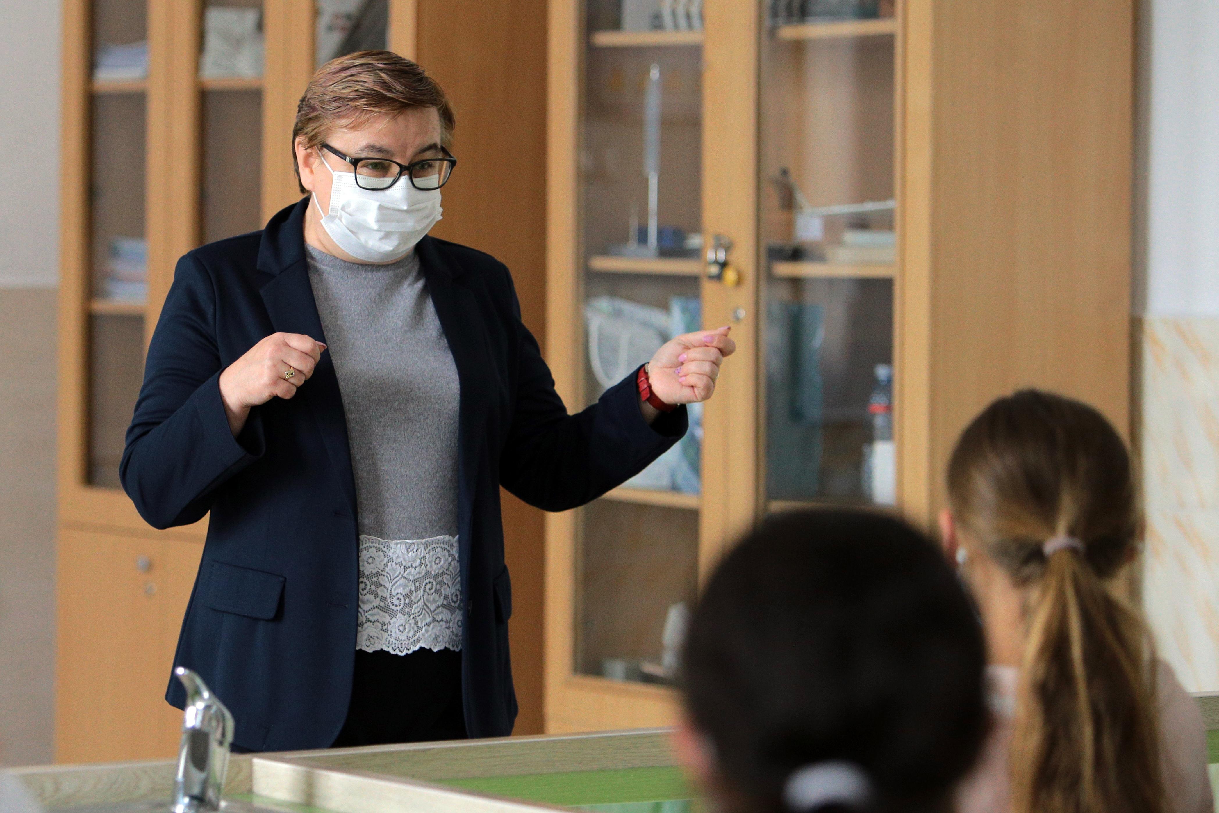 Profesoara de fizică Liliana Focșa